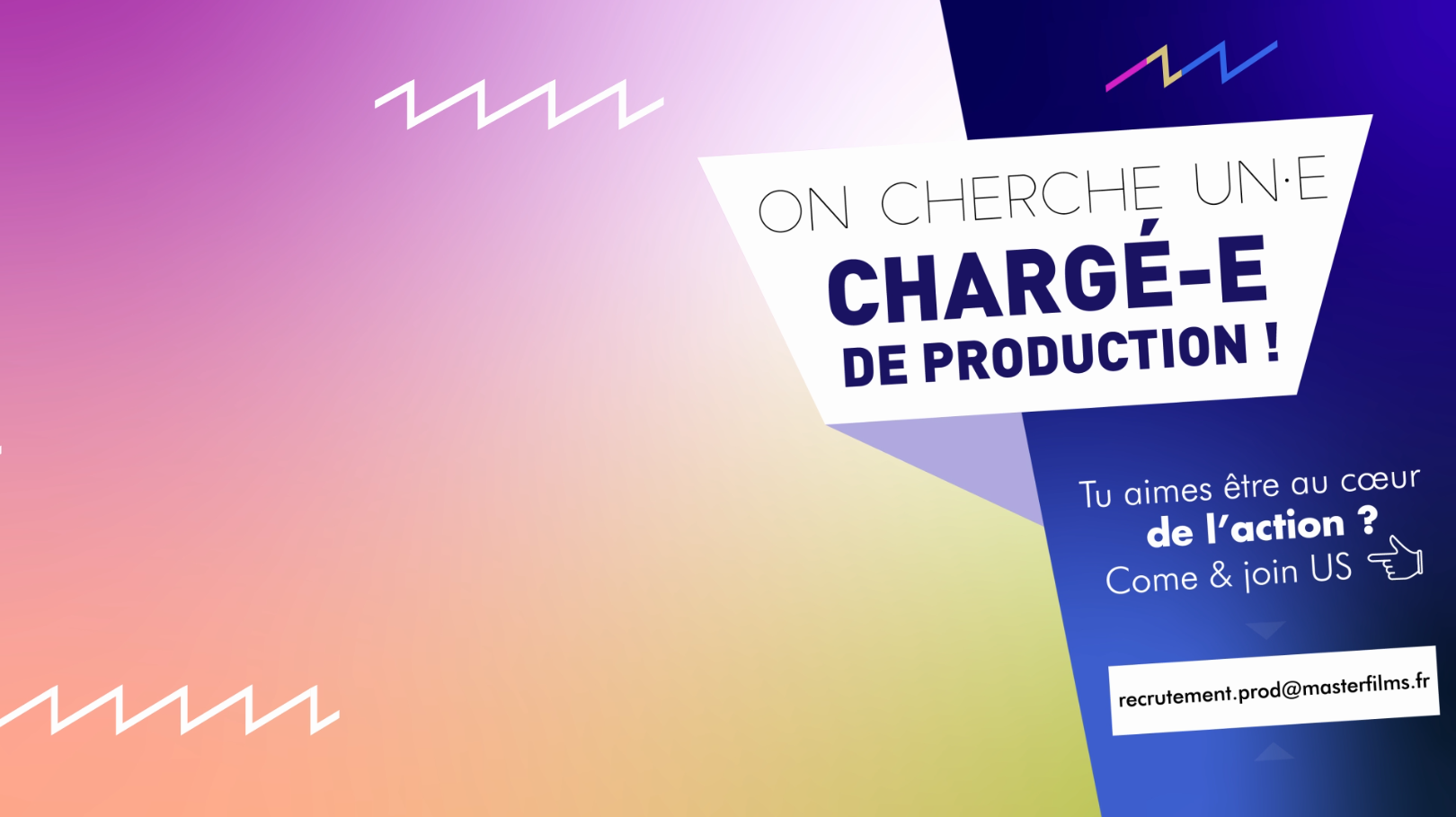 master films recrute un  une charg u00e9 e  de production audiovisuelle